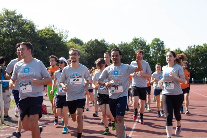 Teilnehmende des TK Campus Run 2018 (c)