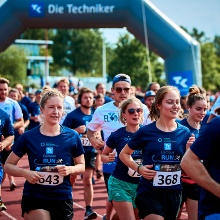 Läuferinnen und Läufer beim Campus-Run 2019